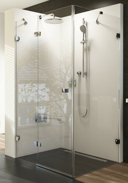 Ravak Brilliant BSDPS zuhanykabin fix fallal, 195 cm magas