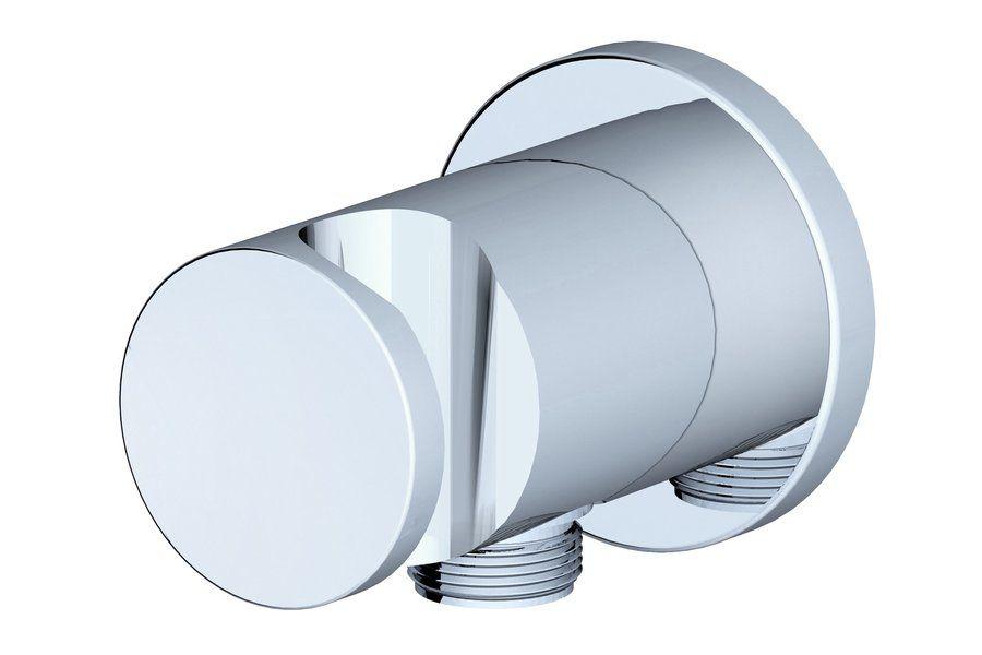 Ravak 706.00 Fali zuhanytartó és csatlakozó (X07P206)