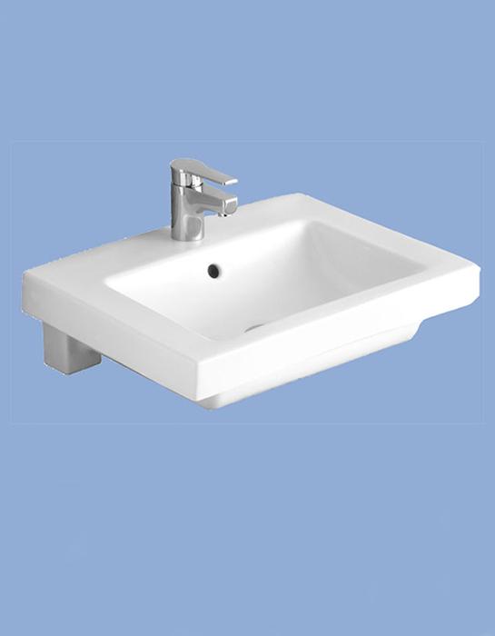 Alföldi Liner beépíthető mosdó 55 x 44 cm 5129