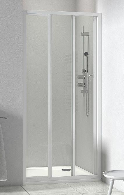 Roltechnik LD3 90 x 180 cm tolóajtó fehér plexi