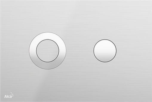 Alcaplast Turn Inox Nyomólap falsík alatti rendszerekhez (Rozsdamentes acél)