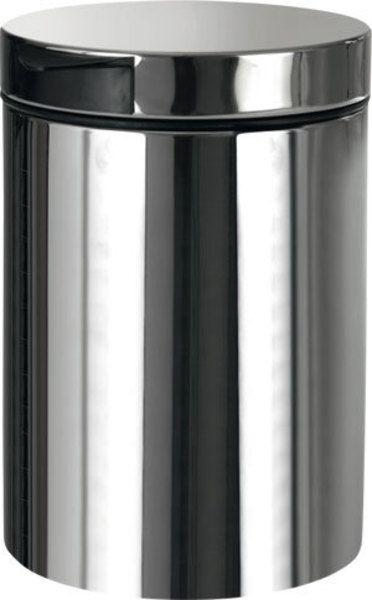Sapho Bemeta HP szemetes kosár, falra szerelhető, 3 l, fényes inox (XP018)
