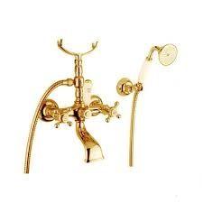 Bugnatese Princeton Kádcsaptelep zuhanyszettel / Arany (802DO)