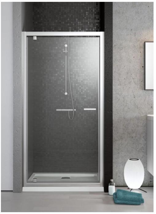 Radaway Twist DW zuhanyajtó 70 / 80 / 90 / 100 cm ajtó, 190 cm magas