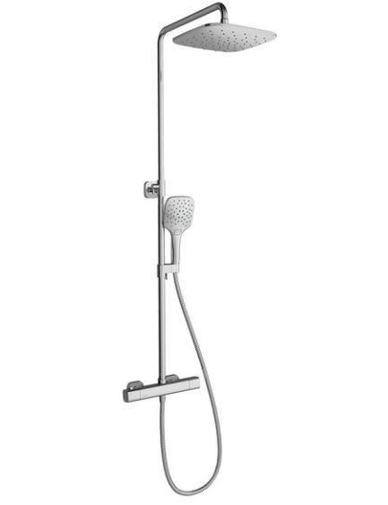 Ravak 10° zuhanyoszlop termosztátos csapteleppel és zuhanyszettel (X070103)