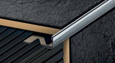 Profilplast Inox Szögletes élvédő 8 mm